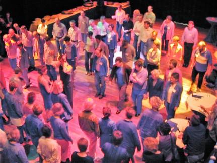 Een workshop voor meer dan 100 personen in LUX Nijmegen